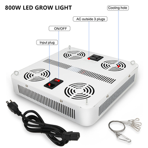 Image 3 - 400W 600W 800W Full Spectrum LED Grow Lights Led Plant Lamp For Greenhouse Grow Tent Vegetables Growth Flowering 110V 220V