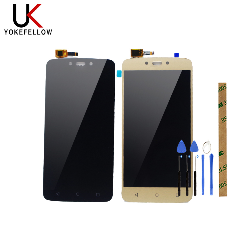 LCD Display For Motorola Moto C Plus CPlus XT1721 XT1722 <font><b>XT1723</b></font> XT1724 LCD Display Digitizer Screen Complete Assembly image