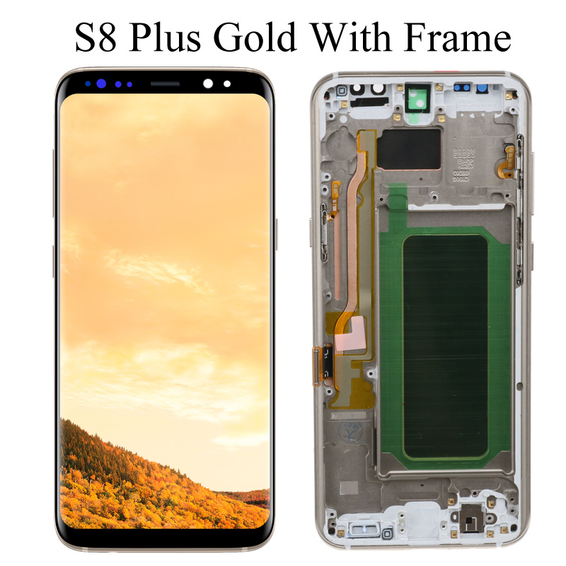 S8 Plus Gold Frame