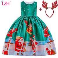 Vestidos de Navidad para niñas, disfraz de princesa, vestido infantes, fiesta de cumpleaños, 3, 4, 5, 6, 7, 8, 9, 10 años