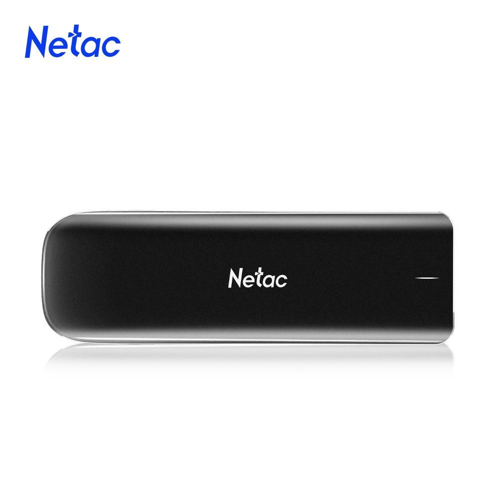 Netac External SSD Hard Drive 1TB 500GB 250GB NVMe SSD Portable SSD External Solid State Drives for Mac Latop/Desktop 1