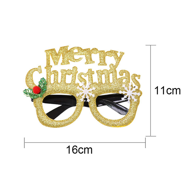 New Year & Christmas Party Glasses For Adult / Kids