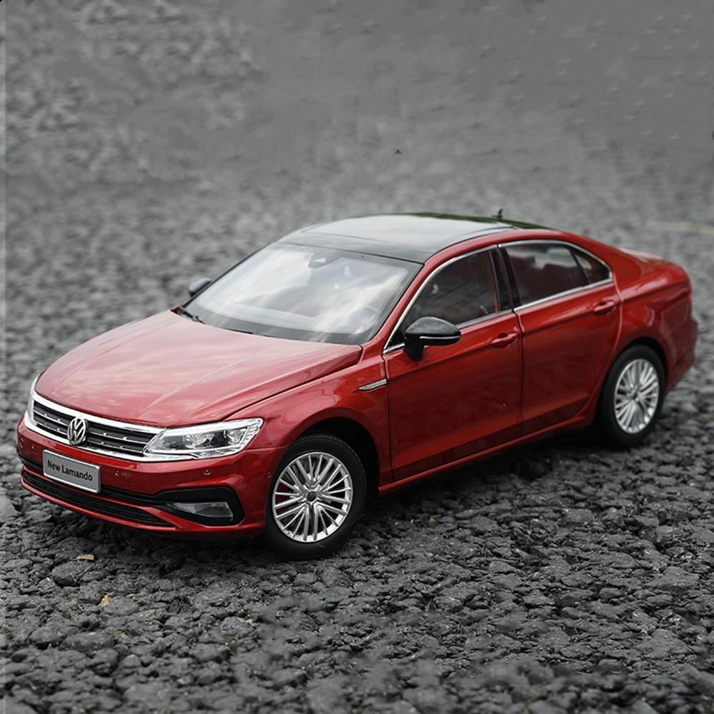 1//18 Scale VW Volkswagen CC 2010 Gold Diecast Car Model Toy Collection