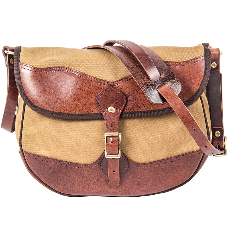 Bolso de hombro de cuero hecho a mano de la vendimia de MAHEU bolsos de cuerpo cruzado de lona de cuero para hombre de cuero de vaca bolsos escolares Retro los hombres bolsa - 5