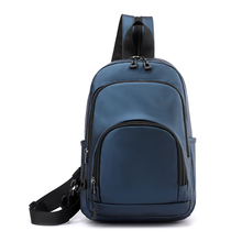 NEW 2020 Fashion Men Chest bag Mini Backpack Outdoor Casual Travel Waterproof Diagonal bag Male Bags