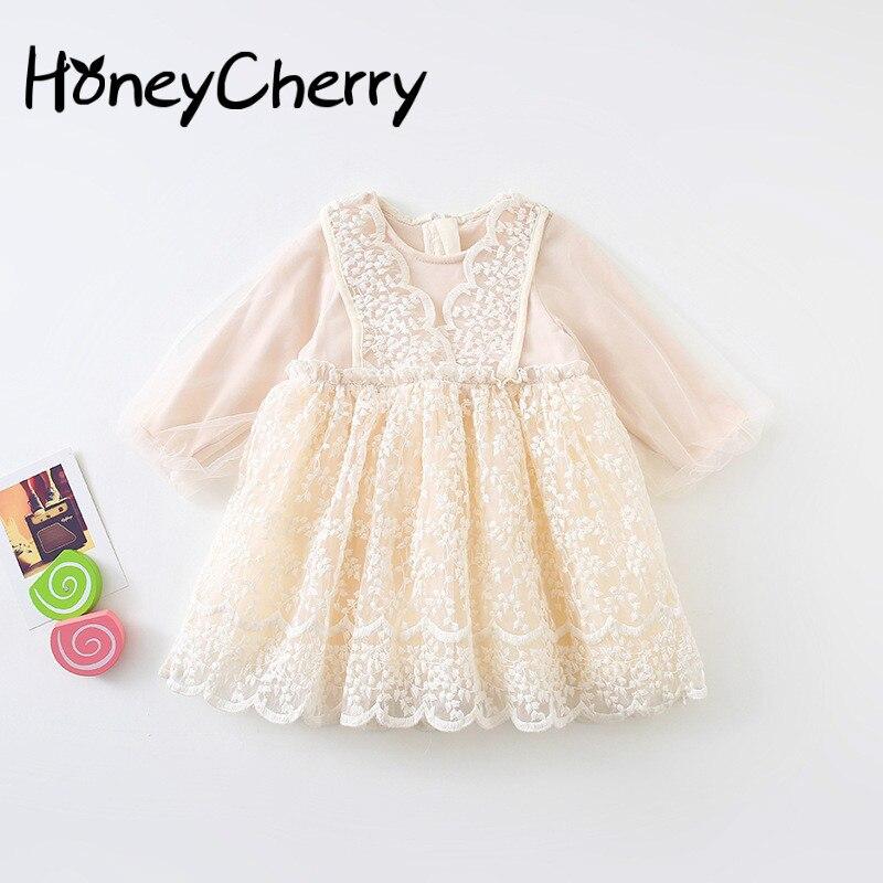 Осенние вечерние платья для девочек на свадьбу, новые детские платья в западном стиле, детское лаковое платье с длинными рукавами|Платья|   | АлиЭкспресс