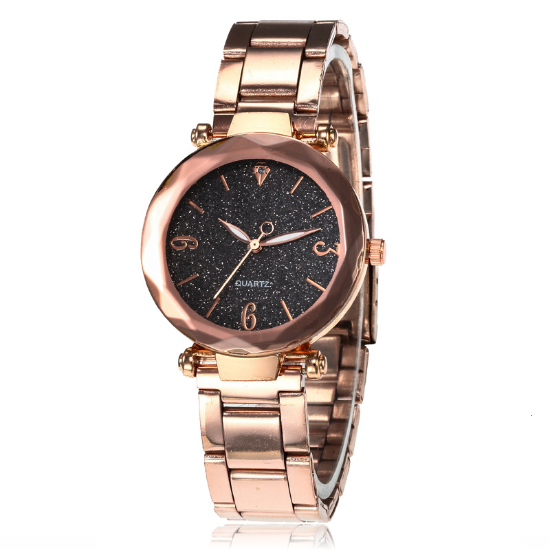 Женские часы звезда небо циферблат часы Роскошные розовое золото браслет женские наручные часы reloj mujer relogio feminino 2019 горячая распродажа