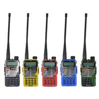 מכשיר הקשר Baofeng-BF-UV5RE ווקי טוקי Portable Dualband 128Ch דו כיוונית אלחוטית Comminication רדיו FM מכשיר הקשר ???????? ??? ????? (1)