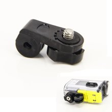 цена на 1 pc Screw Tripod Mount Adapter for Gopro Hero 2 3 3+ for Sony Action Cam AS15 AS30 AS100V AEE Sport Camera Accessories