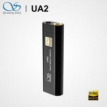 Shanling UA2 ES9038Q2M de Audio de alta fidelidad, portátil USB DAC Cable AMP 2,5mm equilibrada 3,5mm salida PCM768 DSD512 Compatible con iOS Android