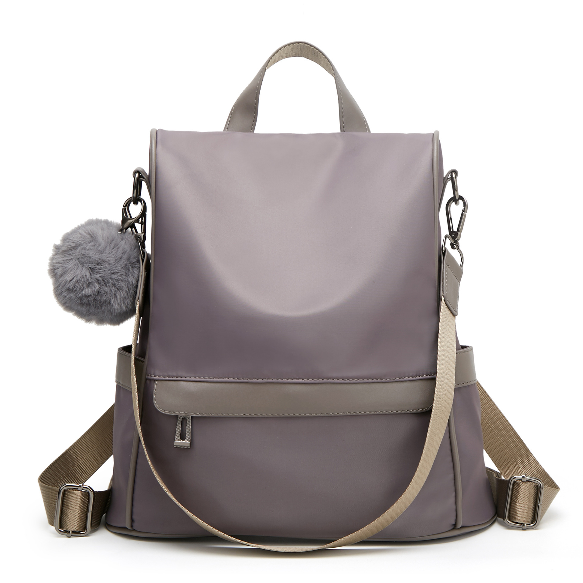 New Style All-match Oxford Cloth Backpack College Students Korean Style Schoolbag Fashion Texture Bag Anti-Theft Backpack Female