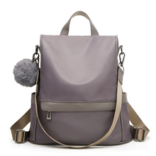 New Style All-match Oxford Cloth Backpack College Students Korean Style Schoolbag Fashion Texture Bag Anti-Theft Backpack Female tide fashion female korean backpack all match shoulders