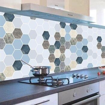 1 M/3 M/5 M nueva cocina a prueba de aceite pared papel baño impermeable autoadhesivo papel pintado dormitorio gabinete Anti-fouling pegatina