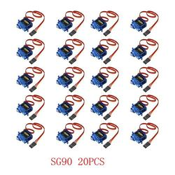 SG90 Mini Gear Micro Servo 9g 1.6KG Mini For RC RC 250 450 Airplane Helicopter Car Vehicle Boat Models Spare Parts  4/5/10/20PCS