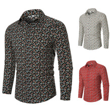 Mens shirts, long sleeve casual mens clothes, Street dresses shirt men  dress shirts