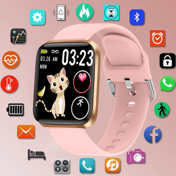 LIGE New Smart Watch Women Heart Rate Blood Pressure Monitoring Fitness Tracker Is Suitable For Android IOS Ladies Smart Watches 1