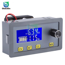 DC-DC 6-32V to 0-32V 5A Power Supply Step Down Buck Converter Module with Fan DC Adjustable Voltage Current Display adjustable power supply module dc dc converter 5a step down buck module voltage regulator 6v 32v to 0 32v lcd display cc cv
