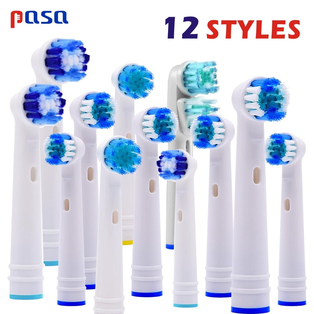 8/12pcs Replacement Brush Heads For Oral B Electric Toothbrush fit B raun Professional Care/Professional Care SmartSeries image