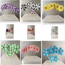 Happy Birthday Cake Topper Cake Flags Kids Cake Decoration Cupcake Topper  Wedding Dessert Table Decor Party Lovely Gifts Angel