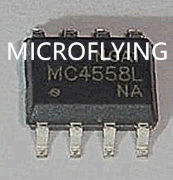 50PCS 4558 BA4558F BA4558F-E2 SOP8 Low Noise Operational Amplifiers