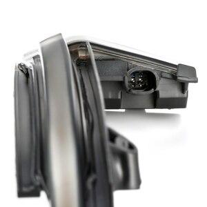 Image 4 - 2 חתיכות דינמי נצנץ מראה אור לאאודי A4 A5 B8 A3 8P Q3 A6 C6 4F S6 LED איתות צד מחוון נצנץ SQ3 A8 D3 8K