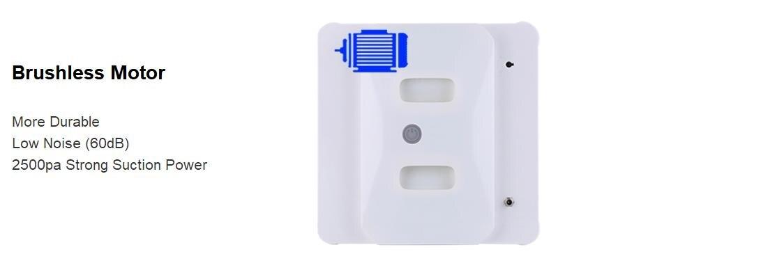 Uusim stiil Ultrathin Robot Window Tolmuimeja