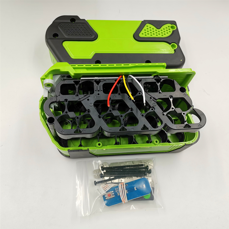 20*18650 Version Battery Plastic Case Charging Protection Circuit Board PCB For Greenworks 40V Lawn Mower Cropper Grass Cutter