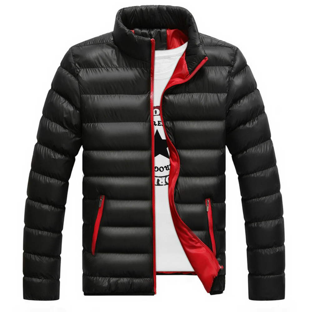 2019 autumn and winter new autumn and winter jacket men's autumn and winter warm brand jacket Slim men's coat jacket windbreaker