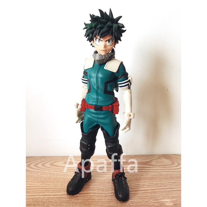 25cm My Hero Academia Midoriya Izuku Action Figure Age Of Heroes Deku Anime Collection Figurals Model Dolls Brinquedos