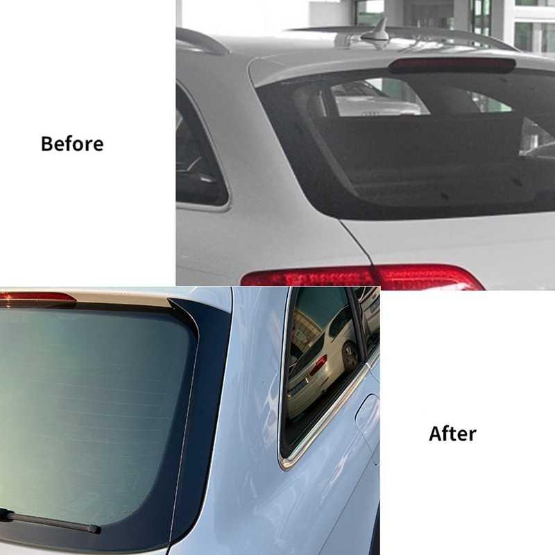 الجانب الخلفي الجناح سقف المفسد ملصقات غطاء الكسوة لمعان الأسود لأودي A4 B8 السفر الطبعة Allroad Avant 2009-2016