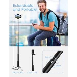 Image 5 - Mpow 074 Bluetooth Selfie bâton extensible Selfie bâton trépied intégré GoPro connecteur détachable trépied support pour téléphone Selfie