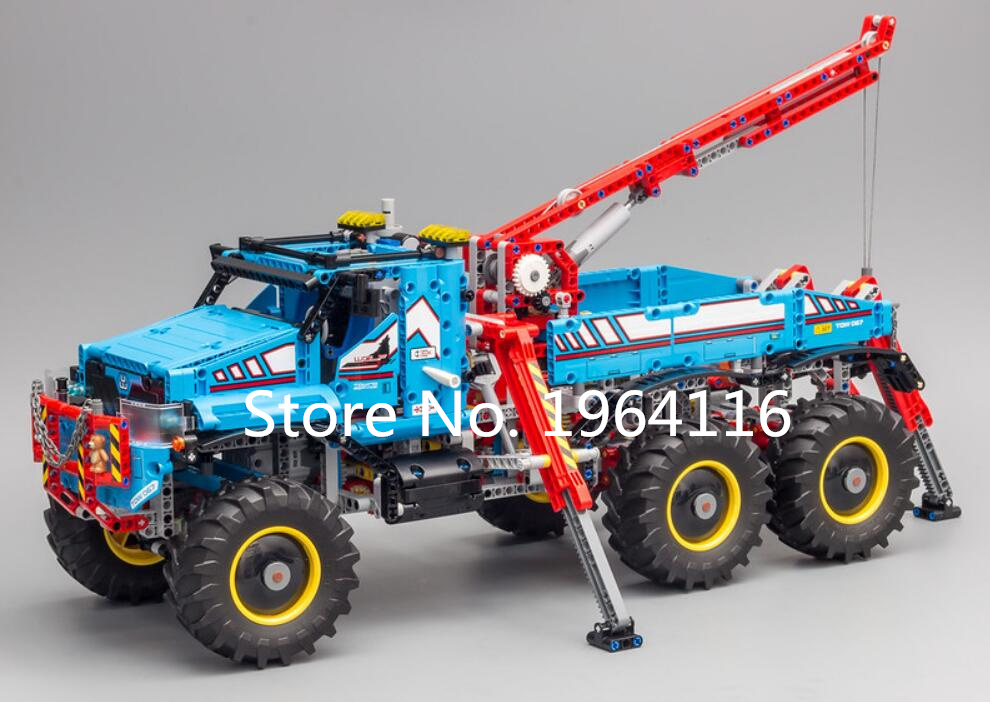 Kyglaring LED Light for LEGO Technic 42070 Ultimate 6X6 All Terrain Tow Truck