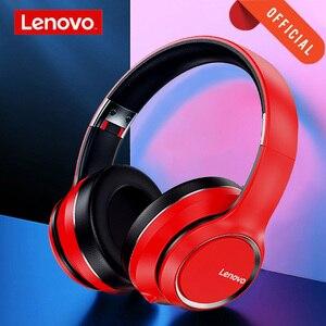 Image 1 - Original Lenovo HD200 Bluetooth auriculares inalámbricos para ordenador BT5.0 larga vida en espera con cancelación de ruido para Xiaomi