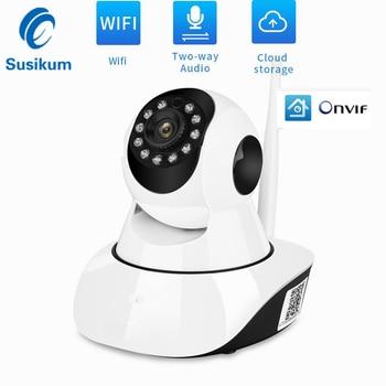 2MP IP Wifi Camera 1080P 355 Degree Pan Tilt Home Security Wireless Camera Two Way Audio SD Card Slot Night Vision IR CCTV Cam
