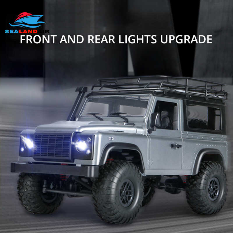 New MN 99 Upgraded Version MN99S D90 4WD RC Car 1/12 Scale Defender Electric Remote Control Car Toy For Boy Gift With LED Lights