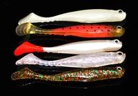 Samurai Lure Open Fish Soft Worm Soft Bait Fish shaped Lure 90 Mm/6.5G Multi color|Fishing Lures|Sports & Entertainment -