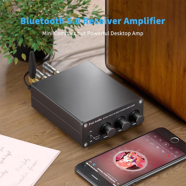 Усилитель мощности Fosi Audio BT20A, 2.0, Bluetooth TPA3116D2, 100 Вт