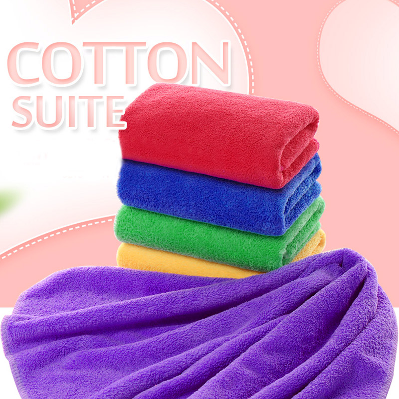 Car Washclothes 6 Color Hair Dry Cleaning Equipment Bathroom Bath Towel Water-Absorbing 30*60cm Water Absorption Rags