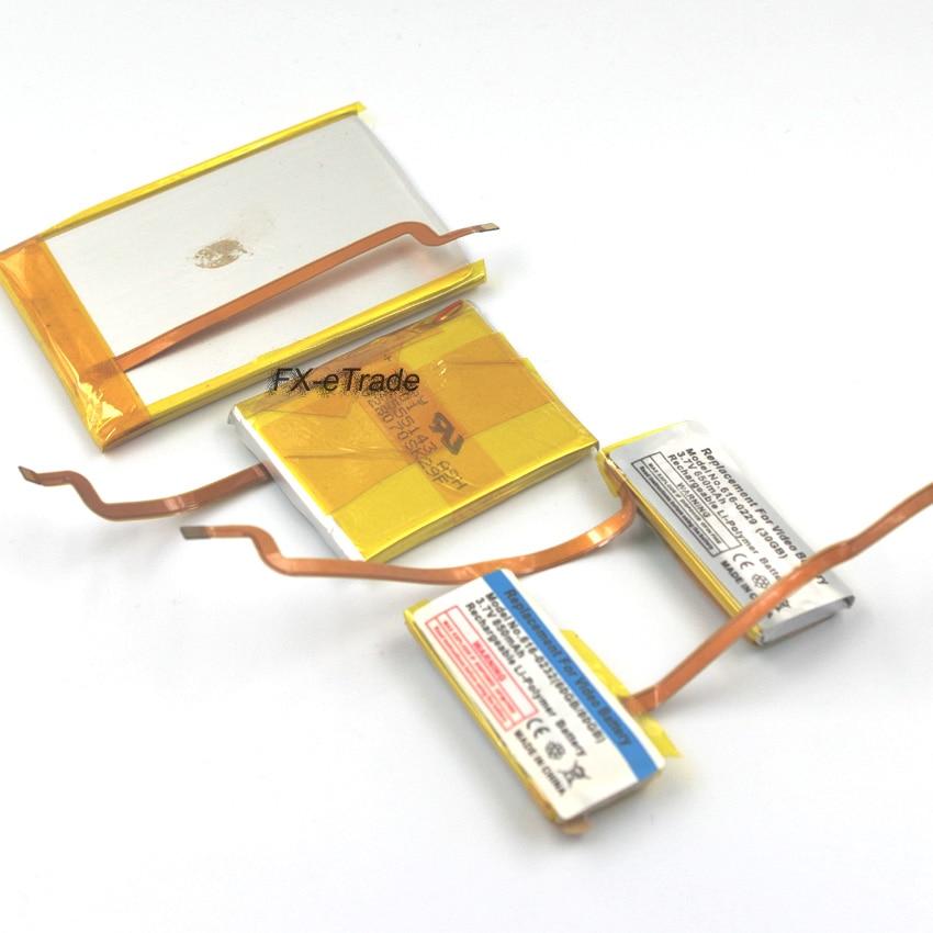 650mAh 850mAh 1800mAh 1900mAh Upgrade Battery Replacement for iPod 5th Video 30GB 60GB 80GB 6th 7th Classic 80GB 120GB 160GB(China)