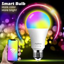 15W Smart Lamp E27 Dimbare Wifi Led Licht 110V 220V App Voice Control Smart Lamp Met Alexa en Google Assistent Wake Up Light(China)