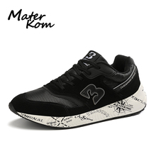 Size 36-47 Women Breathable Casual Shoes Men Anti-slippery Sneakers Couple Running Sports Shoes Unisex Platform Casual Sneakers li ning men running shoes ez run anti slippery sports shoes light lining breathable sneakers arbm053 xyp586