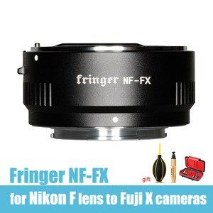 Image 1 - Fringer NF FX  AF Lens adapter ring for Nikon AF S AF P D/G/E Lens F Mount lens to Fuji X Mount cameras XT100 XT2 XT3 XT30