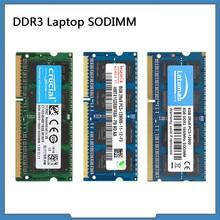 DDR3 RAM 4GB 8GB 1066MHZ 1333MHz 1600MHz 1866MHz SODIMM RAM Memoria del ordenador portátil 204 Pines, 1,5 V Memoria DDR3 módulo de Memoria RAM