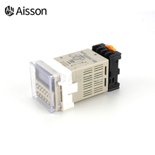 Time-Switch-Relay Cycle-Timer Programmable-0.1s-99h DH48S-S Socket-Base Repeat 110V 220V