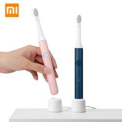 XIAOMI MIJIA SOOCAS zęby wybielanie elektryczna soniczna szczoteczka do zębów Ultra sonic automatyczna szczotka do zębów akumulator wodoodporny w Elektryczne szczoteczki do zębów od AGD na