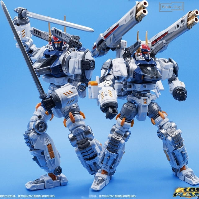 Robot transformable MFT Diaclone DA06, serie perdida, modelo de figura de acción, Guerrero, deformación, Anime