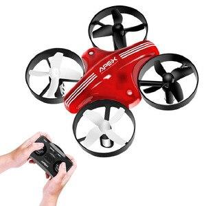 Image 1 - APEX Mini Drone RC Quadcopter Racing Drohnen Headless Modus Mit Halten Höhe Plan Fernbedienung Flugzeug Spielzeug Eders Beste Geschenk