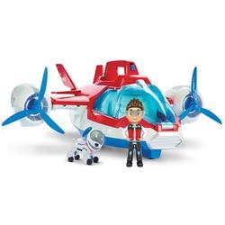 Paw patrol toy set paw patrol birthday air patrol rescue plane Ryder captain robot dog sound effect character toy children gift