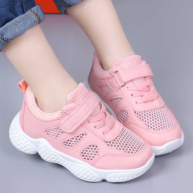 New Fashion Mesh Boy Kids Shoes Little