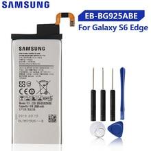 Original Samsung Battery For Galaxy S6 Edge G9250 G925K G925S G925FQ G925F G925L S6Edge G925V G925A EB-BG925ABA 2600mAh